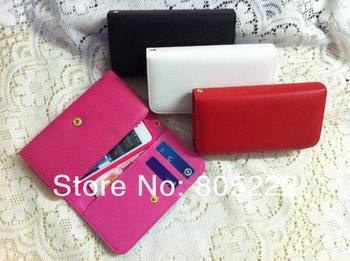 Fashion PU leather wallet case for Huawei Pro G500 U8836D retail and wholesale,freeshipping