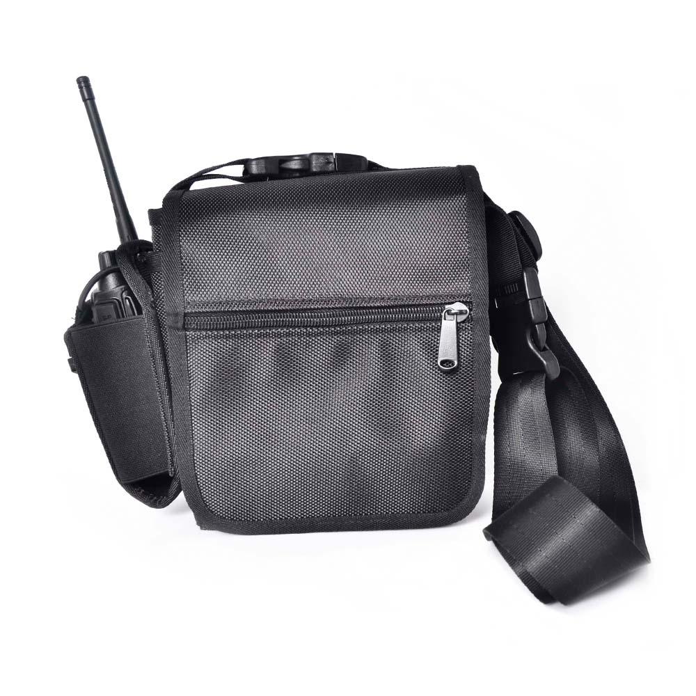 Walkie Talkie Chest Pocket Pack Backpack PT-06 Handset Radio Holder Bag Carry Case for Radios(China (Mainland))