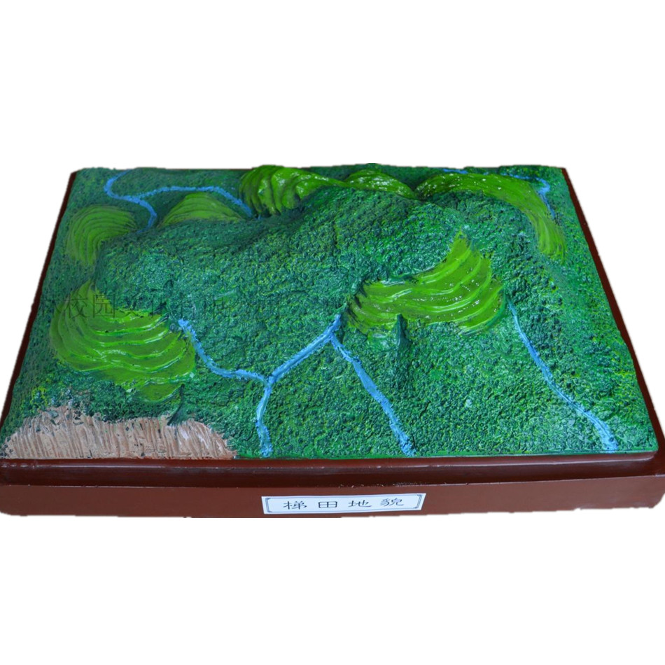 Online buy wholesale model terrain from china model for Terrace landform