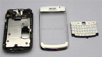 White New OEM Replacement Full housing case cover With keypads For BlackBerry Bold 9700 Free Shipping