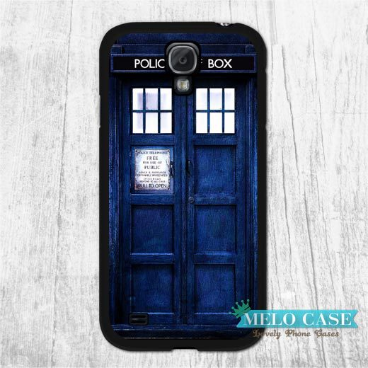 Tardis Doctor Who Police Box Case For Galaxy S5 S4 S3 s5 mini s4 mini Note 4 3 Win i8552 s2 i9100 Classic Protective Cover(China (Mainland))