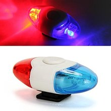 Buy free Mini Waterproof Police Light 4 LED 4 Flash Mode Bicycle Bike Cycling Rear Light Safety Warning Tail Light Lamp for $4.79 in AliExpress store
