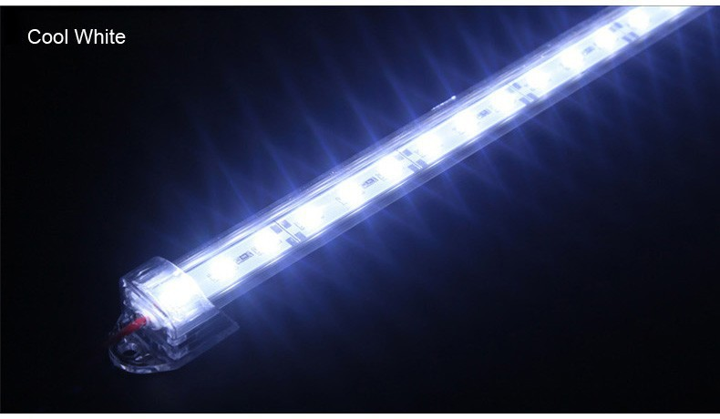 50pcs lot 72 leds 1 meter pc aquarium led bar light