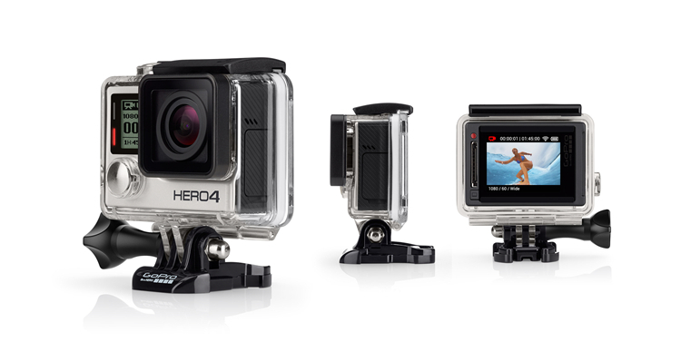 GoPro Hero 4 Silver Edition 1080P 12MP Wi-Fi NEW MODEL 2014 ACTION CAM(China (Mainland))