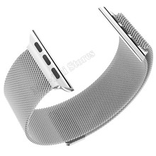 Hoco Replacement OEM Milanese Stainless Steel Classic Genuine Premium Loop Band Buckle Strap For Apple Watch