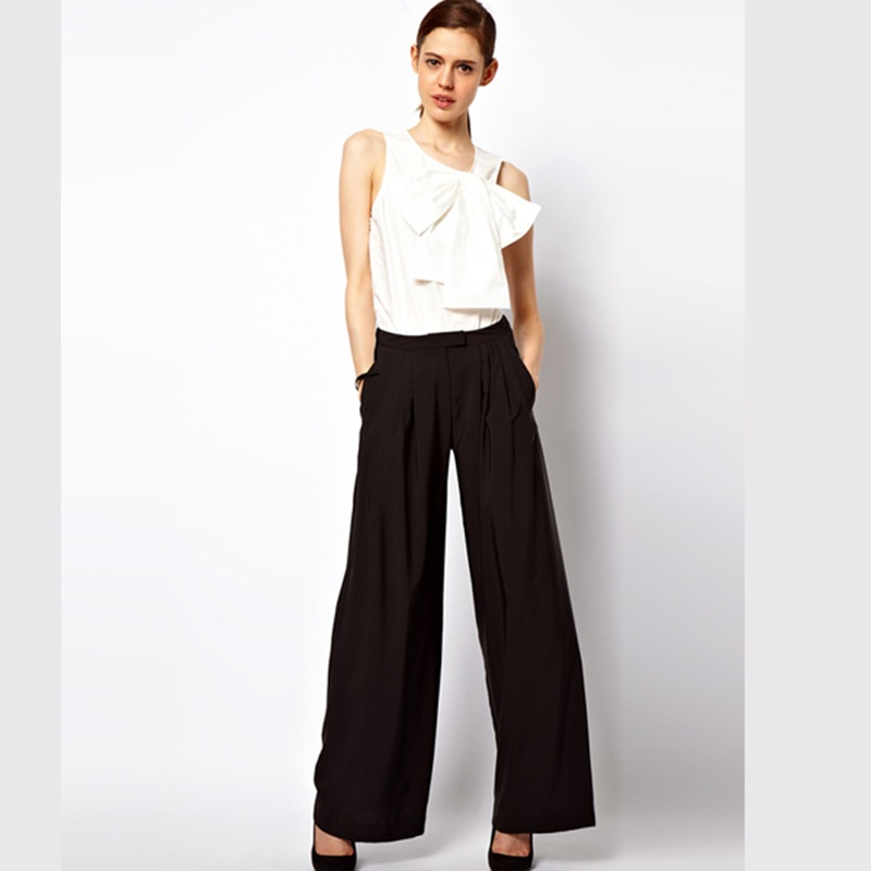 Simple Lauren By Ralph Lauren Plus Size Wideleg Linen Pants In White  Lyst