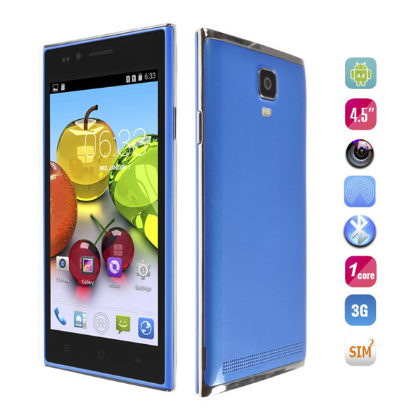 Мобильный телефон Smart Phone MG7 4.5 inch IPS MTK6572 4.4 GSM WCDMA 3G