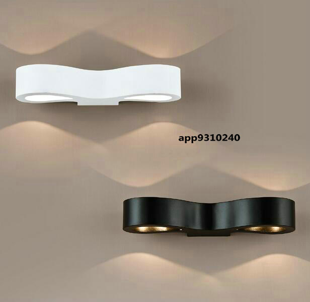 modern minimalist living room bedroom bedside wall lamp LED lighting stairs study TV wall lights<br><br>Aliexpress