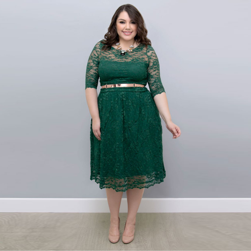 Plus Size A Line Mother Of The Bride Dresses 38