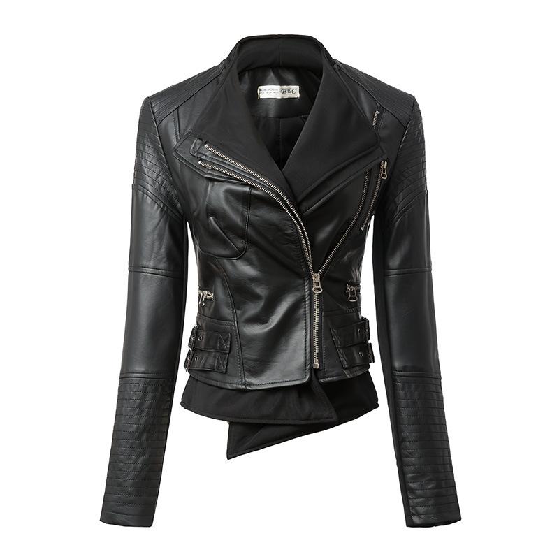 black leather jacket for girls | Gommap Blog