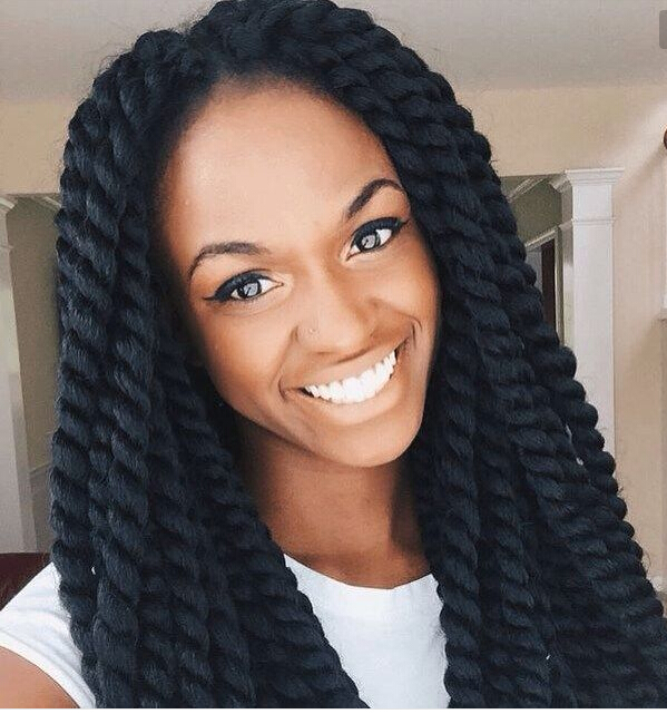 Crochet Braids Purple : crochet braid senegalese twist braid hair 12 roots/piece blue purple ...