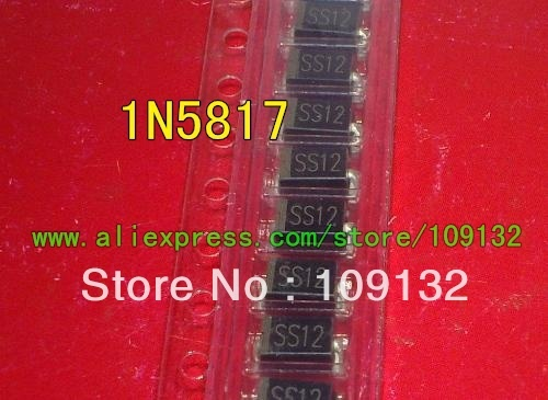 1N5817 MARKING SS12  SMA DIODE SCHOTTKY 20V 1A  NEW IN STOCK