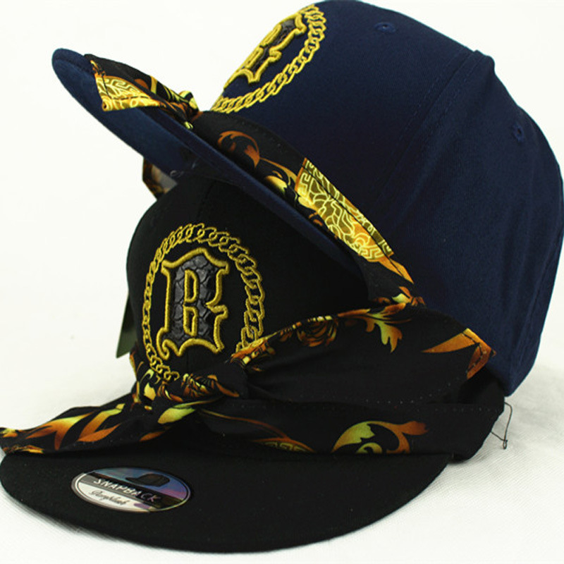Korean version Flat Along the Hat Fashionable Ribbon Baseball Cap Man/Woman Letters embroidered Hat Hip Hop Outdoor leisure Caps(China (Mainland))