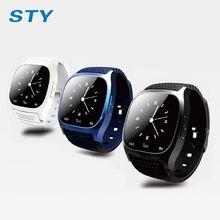 Горячая M26 Bluetooth Смарт Часы наручные Часы smartwatch с Набора SMS Напомнить Плеера Шагомер для Android Смартфонов Samsung