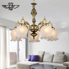 2015 New Hot genuine zinc vintage bedroom lamp LED Chandelier lights Top novelty Indoor Lights wedding decoration kitchen light(China (Mainland))