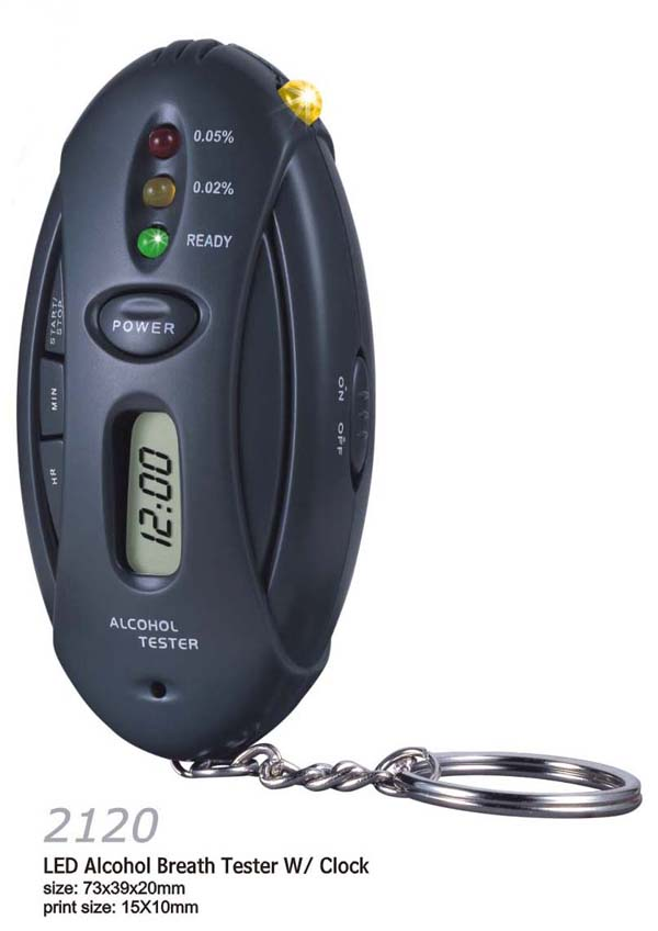 Mini gadgets LED Timer Car-detector Alcohol Tester China Leading Manufacturer(China (Mainland))