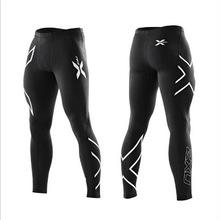 Zenicham Print Sport Leggings Skin Compression Running Tights Soft Men Comfort Baselayer Sportswear Workout Fitness Pants 264(China (Mainland))