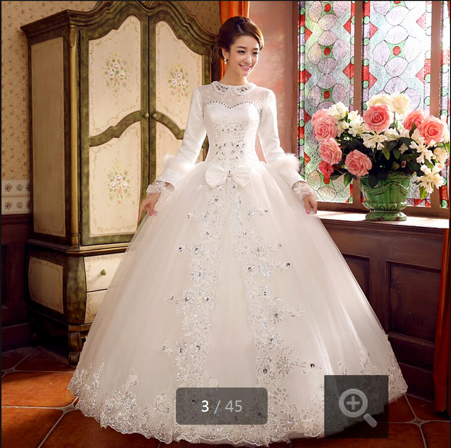 Modest Wedding Dresses Long Sleeve - Wedding Dresses Asian