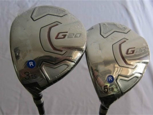 Left Hand PN G20 Fairway Woods G20 Golf Woods OEM Golf Clubs #3/#5 Regular/Stiff Flex Graphite Shaft With Head Cover(China (Mainland))