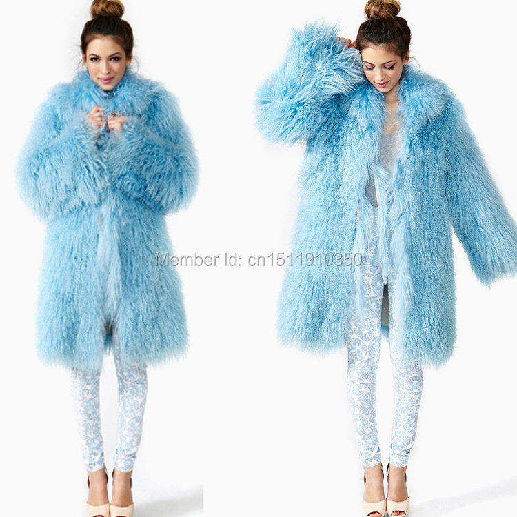 SJ001-01 Women Winter Fur Coat/Mongolian Lamb Real Coats Russia 2015 - Tongxiang Sandra Company store