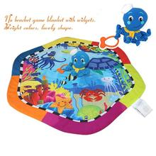Baby Play Mat 0-12Month Sea Animal baby gym toy carpet toys tapete para bebes infantil juguetes alfombra infantil tapis de jeux(China (Mainland))