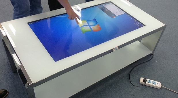 2016 best digital signage touch screen kiosk/touch screen demonstration Exhibition all-in-one PC kiosk(China (Mainland))