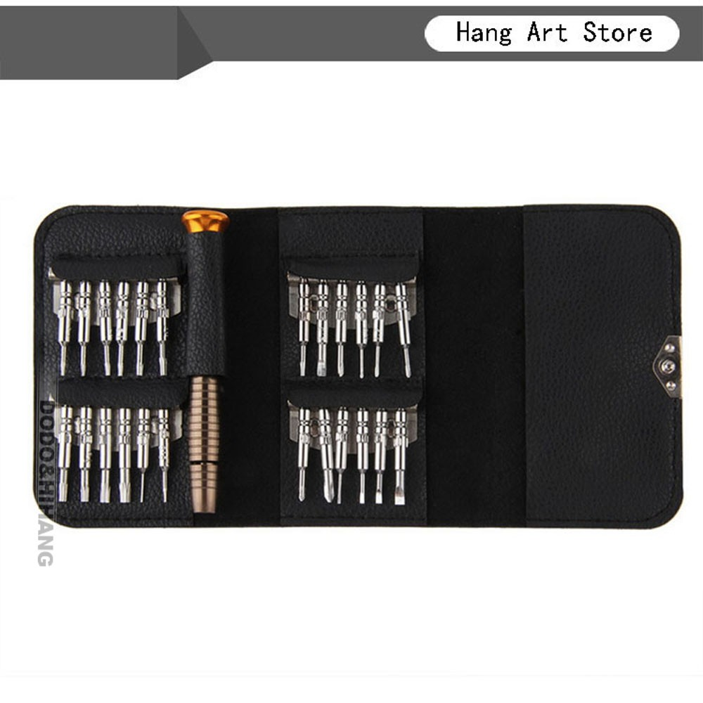 25 in 1 Hot Worldwide Portable Torx Screwdriver Set Repair Tool Set for Tablet Watch Iphone Cellphone DN109 5