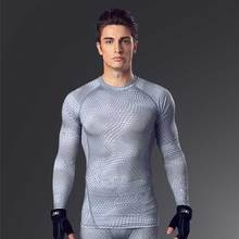 Buy New Men Sporting Brand Top QUICK-DRY Long Tee Gymming Vest T Shirt Yogaing Workout Fitness Exercise Runs Clothing Singlets MA19 for $12.93 in AliExpress store