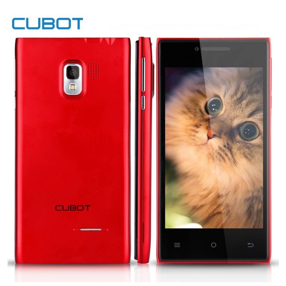 Original CUBOT GT72+ MTK6572 Dual Core CellPhone Android 512MB RAM 4G ROM 1.3GHz 5.0MP 4.0'' 480p Screen GPS 3G WCDMA 2G GSM(China (Mainland))