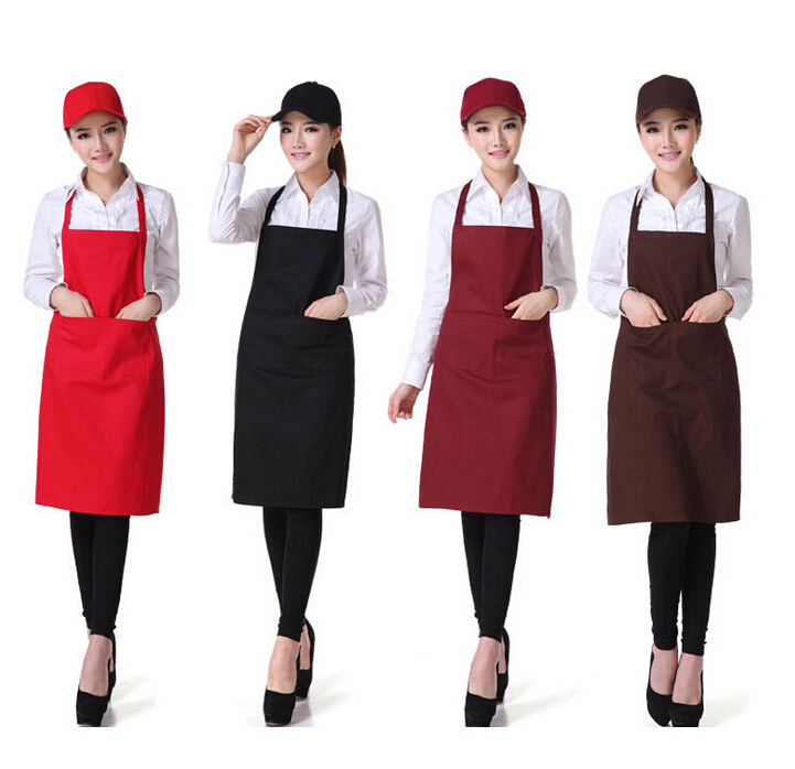 On sale work catering hotel advertising promotion apron custom han edition of Europe type apron free design for Kitchen Cooking(China (Mainland))