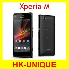 Unlocked Original Sony Xperia M C1905 Android 4.1 Dual Sim Dual Core 4.0 inches 5MP Camera WIFI GPS Cell Phone