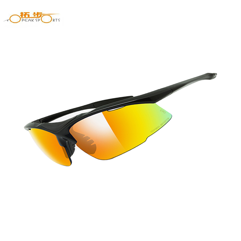 Topeak Polarized Cycling Sun Glasses Outdoor Sports Bicycle Glasses Bike Sunglasses TS001 Goggles Eyewear 4 Lens,7 Colors