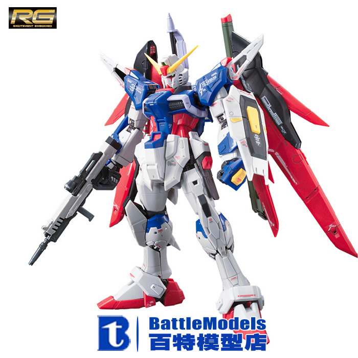 Фотография Genuine BANDAI MODEL 1/144 SCALE Gundam models #181595 RG Destiny Gundam plastic model kit
