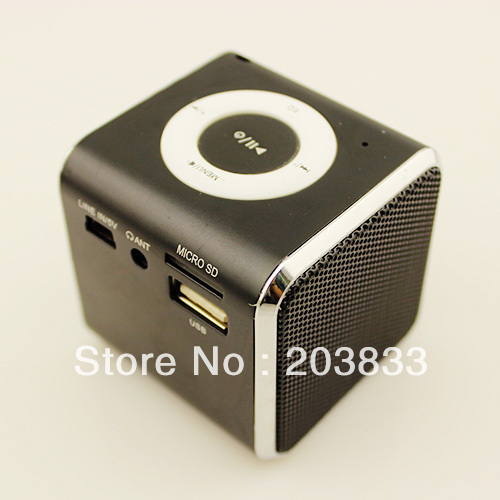 New Music Portable Mini USB Micro SD/TF Mp3 Player without screen digital computer speaker