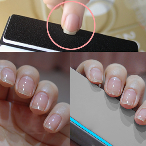 Orderly Use The Rough Sides And Smooth Ones To Polish Shine Your Nails Side 1 Co Sanding For Chipping Nail Edge 2 Find Smoothing