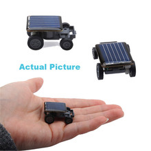 Fashion New Solar Power Mini Toy Car Racer Educational Gadget W Toys(China (Mainland))