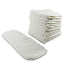 Reusable Washable Inserts Boosters Liners For Real Pocket Cloth Nappy(China (Mainland))