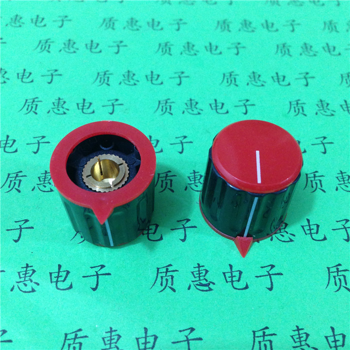Free shipping 5pcs / lot KN115 plastic color knob KN-21 with an arrow and distribution for all types of instruments locator(China (Mainland))
