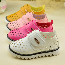 Summer New Selling Top Quality Soft leather soft bottom Boys and Girls Children's shoes hollow sandals Z&L202