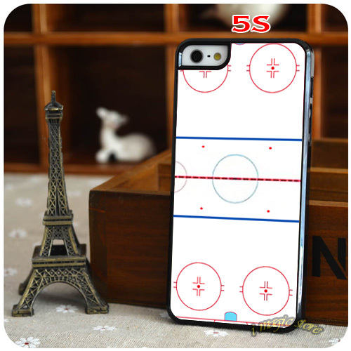 Wholesale Beautiful Ice Hockey Rink Inspired Fun Design Durable Hard Mobile Phone Case for Apple iPhone 4 4s 5 5s 5c 6 6Plus(China (Mainland))