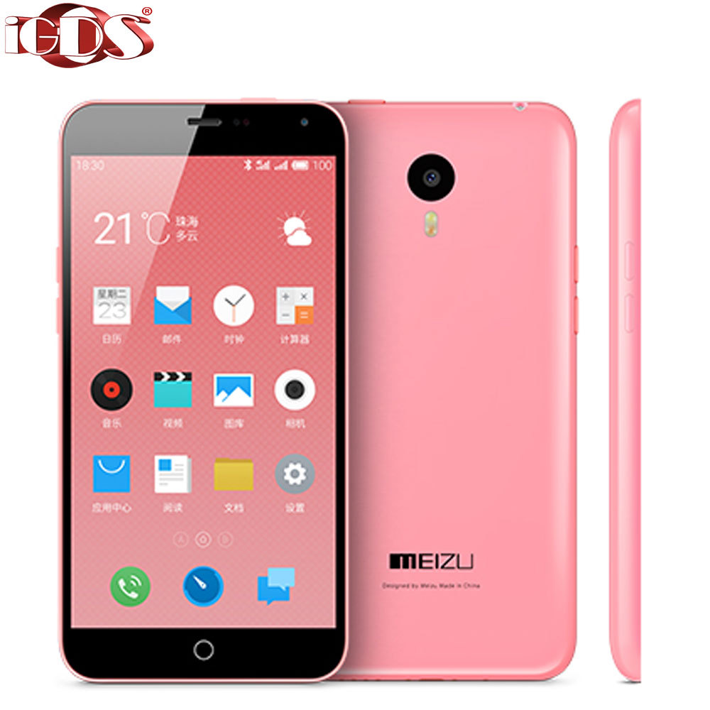 Original Meizu M1 Note Noblue 4G FDD LTE 5.5 inch Screen 1080P MTK6752 Octa Core 1.7GHz 13.0MP Android Flyme cell phone  -  iGDSmall store