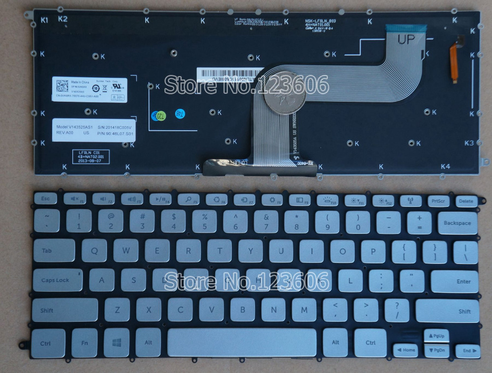 Dell Inspiron Backlit Keyboard New Keyboard For Dell Inspiron