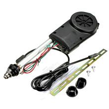 Audew 2015 Brand New Universal Car Automatic Booster SUV Electric Power AM/FM Radio Antenna Mast kit 1960-2005(China (Mainland))