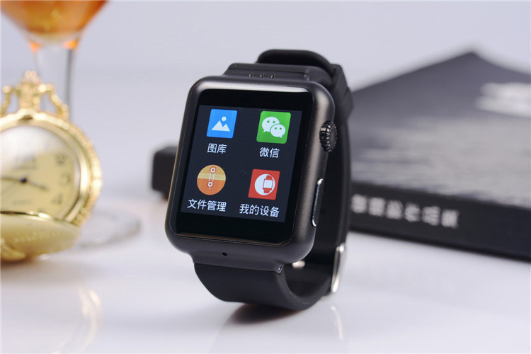2pcs Smart Watch with Android OS T8 Camera 720P Video Record GPS Tracker 320X320 Display Bluetooth Gravity Sensor GSM/WCDMA SIM<br>