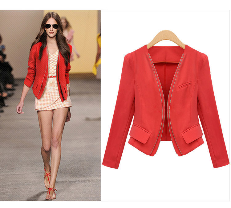 RED BLAZER FOR WOMEN - Emanda Seres