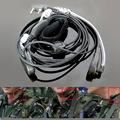 Anti Noise Handsfree Finger PTT Throat Control Acoustic Tube Earphone for Baofeng Kenwood UV5R Walkie Talkie