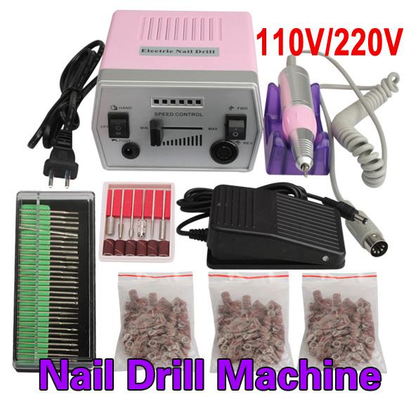 New Professional Nail Art Tool Pro 220V Electric Manicure Machine Set Drill File Kit Pedicure Polish Shape Tool  HB88<br><br>Aliexpress