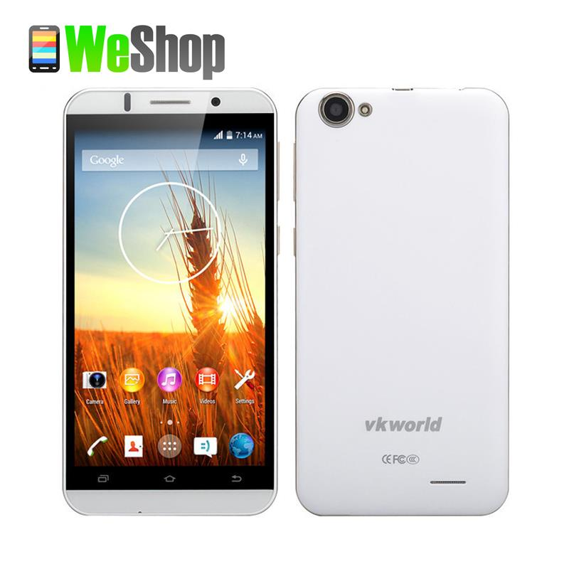 VKWORLD VK700 Mobile phone 5.5 inch IPS HD MTK6582 Quad Core 1.3GHz Android 4.4 1GB RAM 8GB ROM GPS 3G cellphones