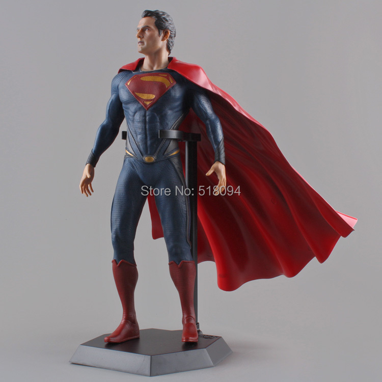 Crazy Toys Superman Man of Steel PVC Action Figure Collectible Model Toy 12 30CM Free Shipping HRFG278<br><br>Aliexpress