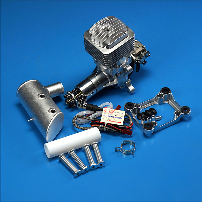 free shipping DLE85 aircraft model gasoline engine 85CC engine for RC helicopter/fixed wing RC hobby(China (Mainland))